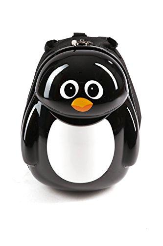 cuties-and-pals-valise-enfant-sac-a-dos-enfant-sac-a-dos-pingouin-noir-blanc
