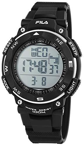 Fila Reloj Digital para Hombre de Cuarzo con Correa en Silicona 38-824-001