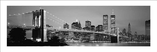 Empireposter - New York - Skyline - Größe (cm), ca. 91,5x30,5 -...