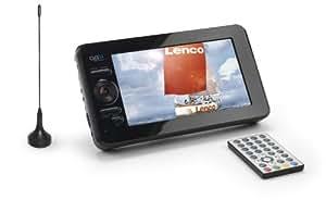 lenco tft 925 22 5 cm 9 zoll mobiler lcd fernseher dvb. Black Bedroom Furniture Sets. Home Design Ideas