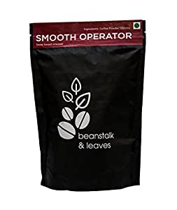 Beanstalk & Leaves Smooth Operator Filter Coffee Powder, 250g, Filter Coffee, Espresso, Black Coffee, Cappuccino, Blend, 3 in 1