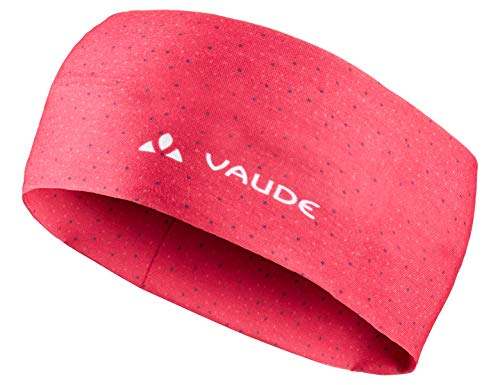 VAUDE Unisex-Kinder Cassons Headband Stirnband, Crimson red, one Size