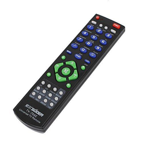 Regulador teledirigido plástico elegante universal Negro para TV DVD