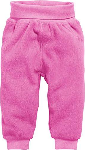 Schnizler Unisex Baby Jogginghose Pump-Hose, Fleecehose mit Strickbund, Rosa (Pink 18), 56