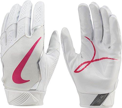 Nike Vapor Jet 4Skill Handschuhe 2017–Weiß/Pink, Größe S