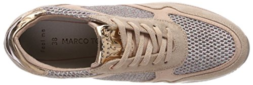 Marco Tozzi 23701, Sneaker Donna Rosa (Rose Met. Comb)