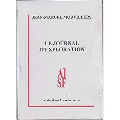 Le journal d'exploration