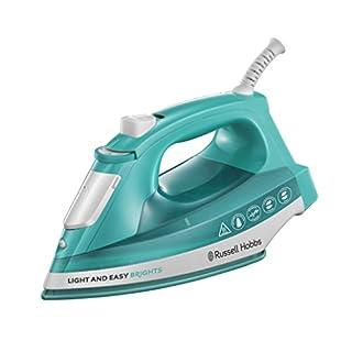 Russell Hobbs 24840 Light & Easy Brights Iron, 2400 Watt, Aqua