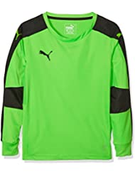 Puma–Camiseta de portero Triumphant 702195, otoño/invierno, infantil, color verde fluorescente, tamaño 164
