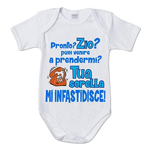 Foto Pariando T Shirt Maglietta Bambino Sono LAmore della Zia