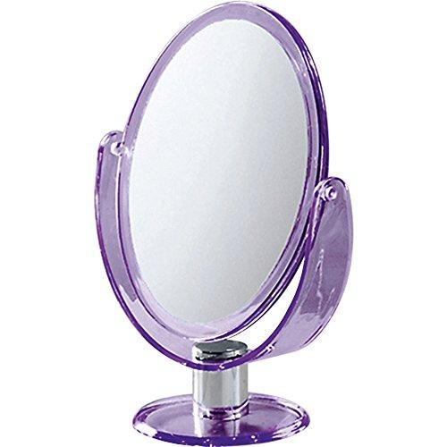 Gedy-CO2018-Espejo-dos-caras-normal-y-aumento-ovalado-color-lila