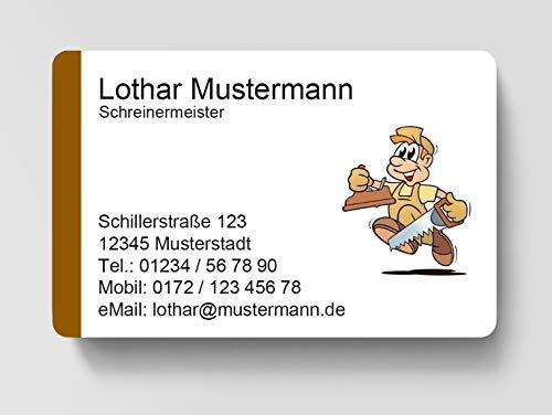 Kartenspender 100 Visitenkarten Design Marmor Antik Inkl 85