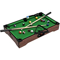 Mini Table Top Pool Table with Cues, Triangle and Chalk 1 preisvergleich bei billige-tabletten.eu