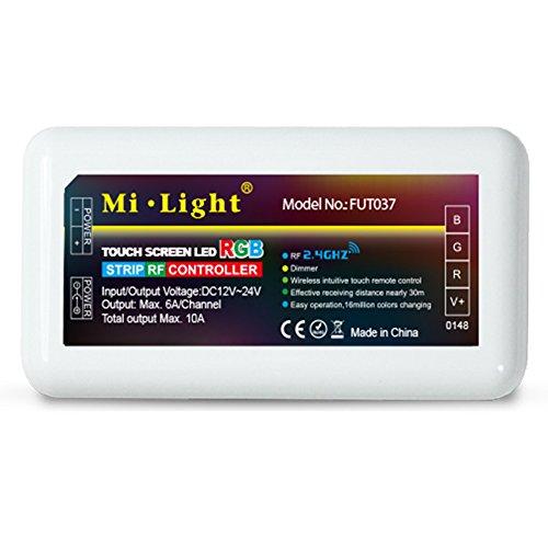 LGIDTECH Mi.Light 2.4GHz RGB LED streifen licht controller empfänger box DC12-24V, müssen mit milight entfernten, B3/T3 wand panel oder ibox brücke hub (alles ist separat erhältlich)