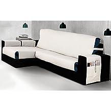Cubre Chaise Longue Modelo MISURI, Color MARFIL C/1, Medida 240cm · Brazo DERECHO