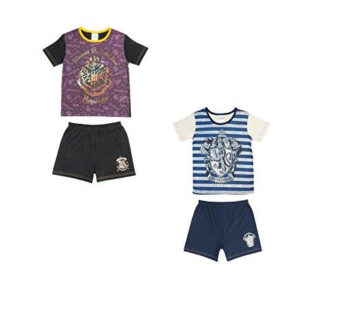 2er Pack Mädchen Harry Potter Pyjama Shortie Set - 5 bis 1-7-8 years (128 cms)