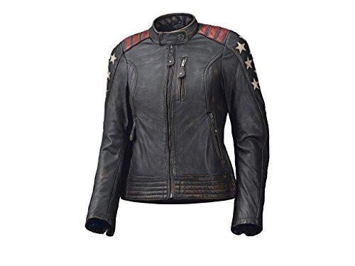 Preisvergleich Produktbild HELD Lederjacke LAXY Damen Jacke Damenjacke Rindleder Protektoren schwarz Größe 40