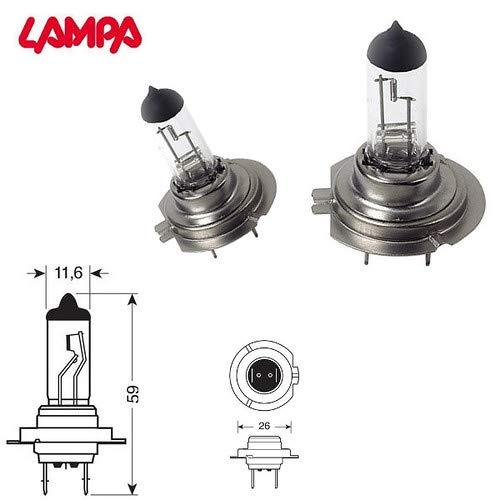 LAMPADE AUTO ANABBAGLIANTI COMPATIBILE CON CITROEN C3 PLURIEL 2005 H7 ALOGENA FARI LUCI LAMPADINE ILLUMINAZIONE