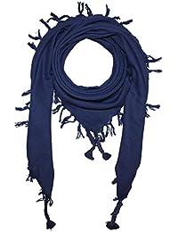 Superfreak® Baumwolltuch ° Tuch fein & dicht gewebt - mit Fransen ° Schal°100x100 cm°100% Baumwolle°alle Farben!!!