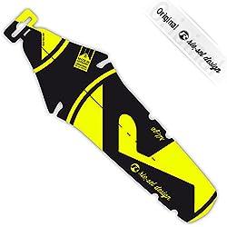 Rie: SEL Diseño guardabarros Sillín Protección antisalpicaduras Bright Yellow Label 2015de bicicleta para rueda trasera |road | Fixie | MTB | Triathlon
