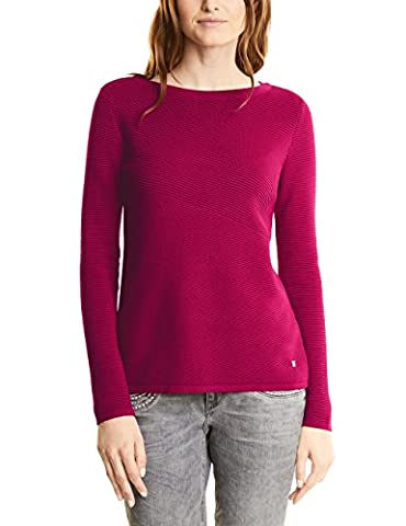 Street One Damen Pullover 300327 Robby, Rosa (Funky Pink 11019), 40