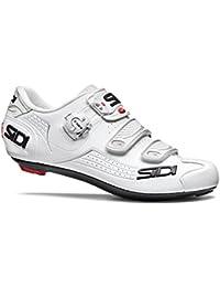 Sidi Alba Road - Zapatillas de ciclismo, color blanco y blanco, 39 EUR [