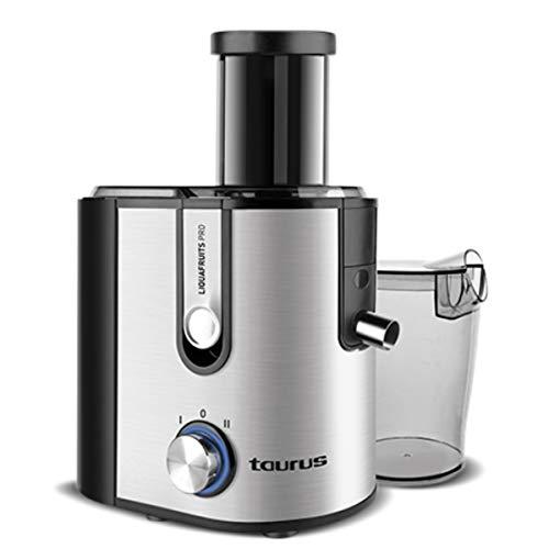 Taurus 924.720 Liquafruits PRO-Licuadora 800 W, 2 velocidades, sistema antigoteo, filtro extraible...