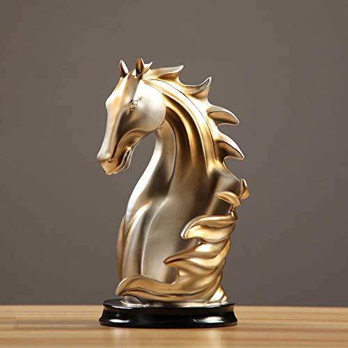 Ludage Wohnaccessoires Handwerk, Retro-kreative Pferd Weinregal Wein Schrank Wohnzimmer Ornamente...