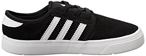 Adidas Originals Seeley I bambini delle calzature (infante / bambino), nero / bianco / nero, 2 M Us Black/White/Black
