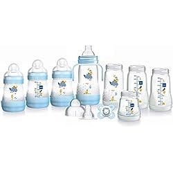 MAM Easy Start Self stérilisation anti-coliques kit de démarrage, petite, Bleu