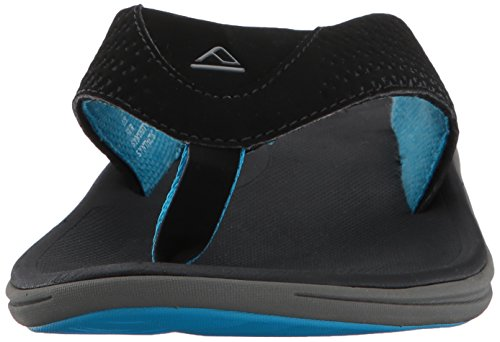 Reef Herren Rover Black/Blue Zehentrenner Mehrfarbig (Black/Blue Bku) ...