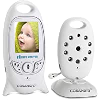 VB601 Wireless Video Baby Monitor con Fotocamera Digitale, Visione Notturna Monitoraggio della Temperatura e 2 vie Citofono Sistema