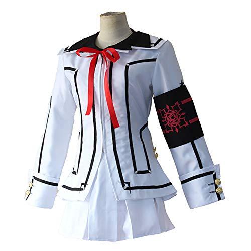 Vampira Crimson Kostüm - Hzd Inspiriert von Vampir Ritter Luca Souen Anime Cosplay Kostüme Japanische Cosplay Anzüge/Schuluniformen Patchwork Langarm Mantel/Shirt/Rock für Frauen,XL
