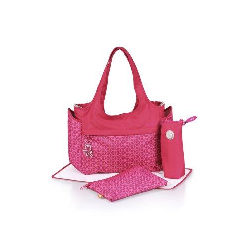 okiedog Celeb Tote Wickeltasche Khanda pink - Polyester