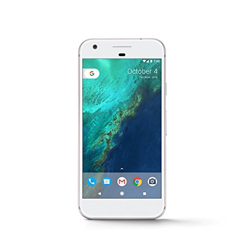 "Google Pixel Single SIM 4G 32GB Silver - Smartphones (12.7 cm (5""), 32 GB, 12.3 MP, Android, 7.1, Silver)"