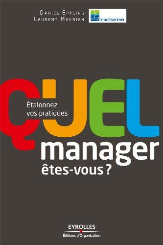 Download Online Quel manager  êtes-vous ? pdf