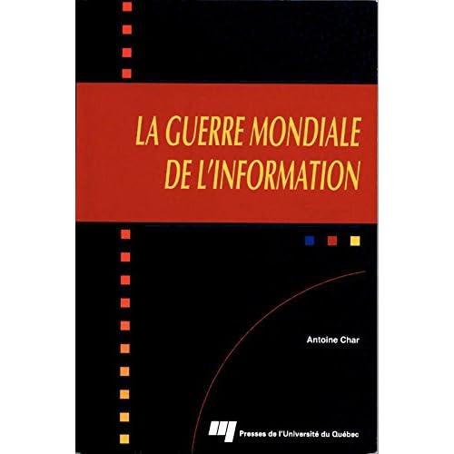 La guerre mondiale de l'information