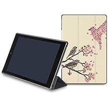 caseable Fire 7 - funda para (tablet de 7 pulgadas, séptima generación - 2017), funda ligera para la nueva tablet Fire 7 de Amazon, impresa con el estiloso diseño: Dialogue with the Sky