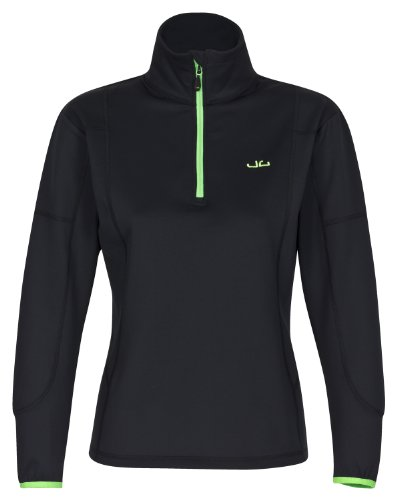 Jeff Green Damen Softshell Pullover Jess Black 38 (Größe: M)