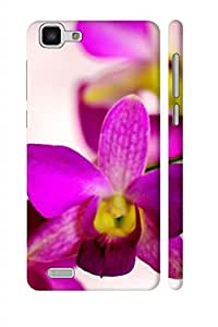 AMAN Rise Flowering 3D Back Cover for Vivo Y27