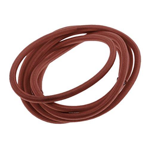 FLAMEER Cable de Choque Marino de Cuerda Elástica de 4 mm Amarre...