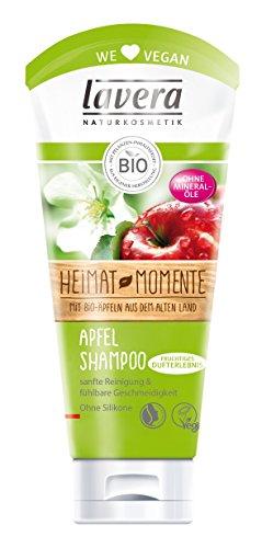 lavera Apfel Haar Shampoo ∙ Normale Haare ∙ Bio Äpfel ∙ vegan ✔ Bio Haarshampoo ✔ Naturkosmetik ✔ Natural & innovative Hair Care ✔ Haarpflege 2er Pack (2 x 200ml)