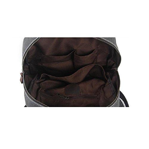 LF&F Backpack EuropäIsche Retro Handtaschen Aktenkoffer Vintage Schulterbeutel Im Freiensport Sport Reisen Rucksack Laptoptasche Studententasche GepäCkbeutel Rucksack-TagesrucksäCke B