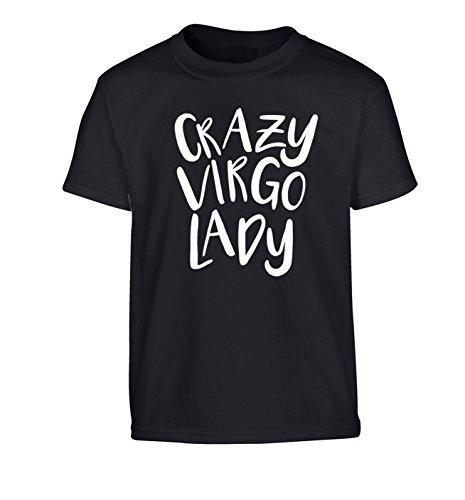 Flox Creative Children's T-Shirt Crazy Virgo Lady