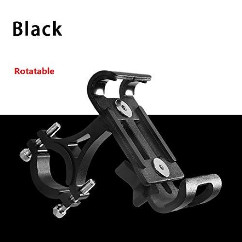 gceu bike phone mount - so cool mountain bike mount per qualsiasi telefono cellulare smart phone holder per moto manubrio della bicicletta culla phone mount 1pc - nero girevole