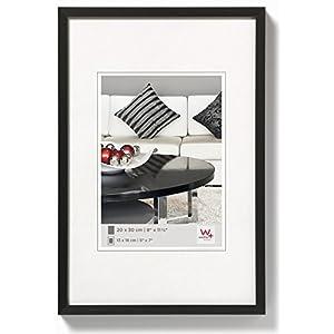 walther design AJ460B Aluminium-Bilderrahmen Chair, 40x60 cm, schwarz