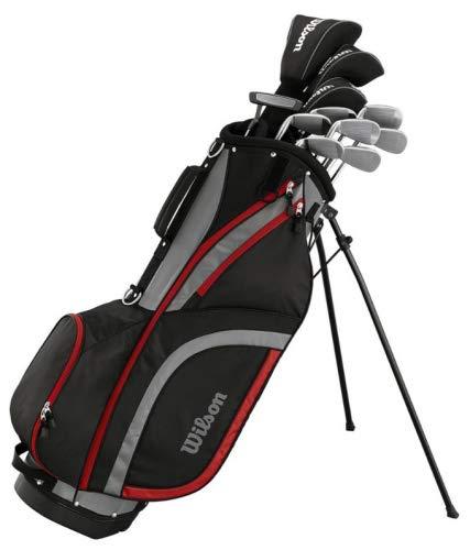 WILSON Matrix Herren Golfset/Golf Komplettset, Rechtshand, Stahl- & Graphitschäfte