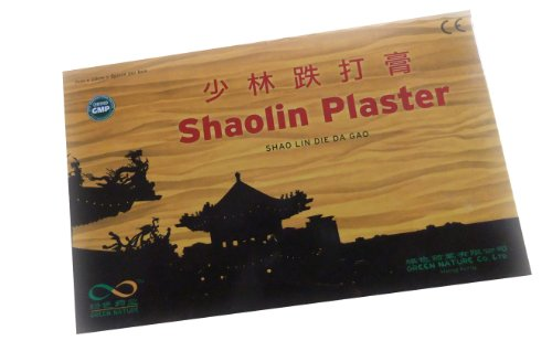 SHAOLIN PFLASTER, 8 Stück 10 x 7 cm aus China - Green Nature