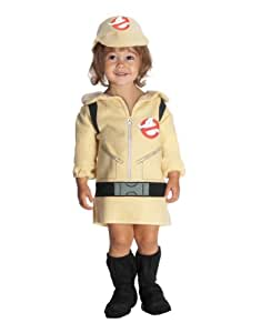 """Ghostbusters Costume, Kids Girl Ghostbuster Outfit, Infant, Age 6 - 12 months, HEIGHT 22"""" (neck to bottom)"""