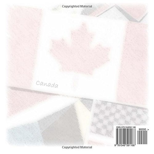 North American Road Trip Journal: Canada Flag Cover (S M Road Trip Journals)